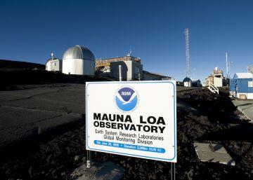 El observatorio del volcán Mauna Loa (Hawai) registra las concentraciones de CO2 en la atmósfera