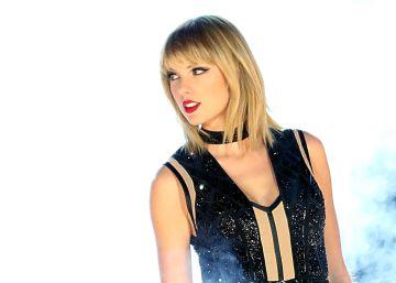 Taylor Swift, durante su actuación en el Gran Premio de Estados Unidos de fórmula 1
