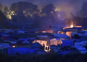 Fin del campamento de Calais