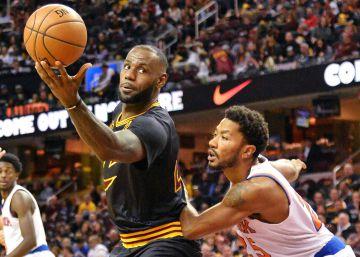 La NBA empieza con una exhibición de LeBron James