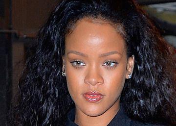 Rihanna, la pasada semana en Nueva York.