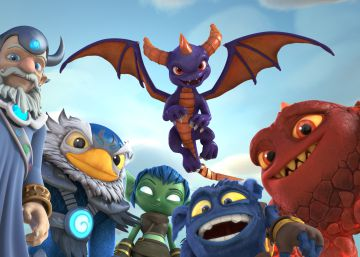 Personajes del videojuego Skylanders. rn