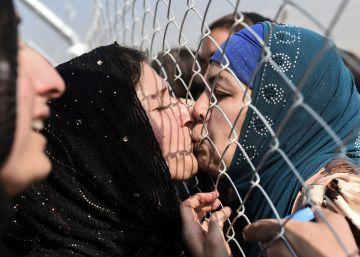 Reencuentro en un campo de refugiados