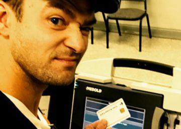 El 'selfie' que podría meter en problemas a Justin Timberlake