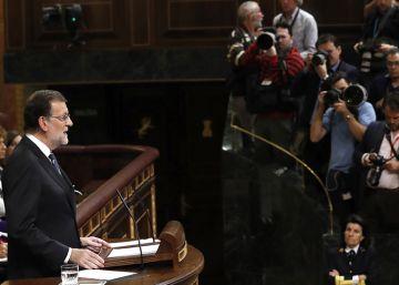 Vídeo | El discurso de Rajoy resumido en 10 secuencias