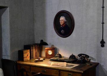 Reconstruyen el estudio en el que murió Hitler