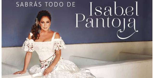 El cartel que anuncia el nuevo disco de Isabel Pantoja.