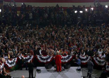Los votantes de Hillary Clinton