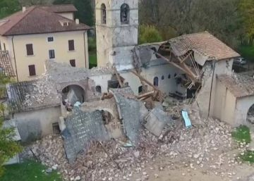 La iglesia del siglo XV que simboliza la devastación del terremoto de Italia