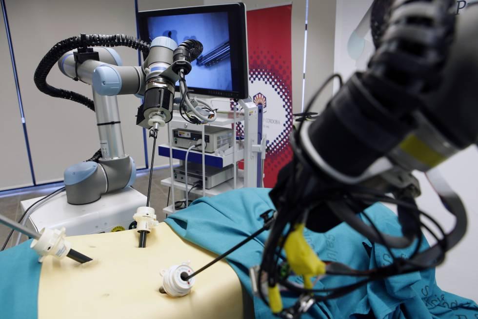 Imagen del prototipo del robot español Broca.