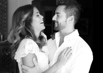 Bisbal comparte en Instagram una foto con su novia tras el concierto de OT
