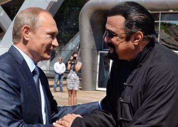 Putin concede la nacionalidad rusa a su amigo Steven Seagal