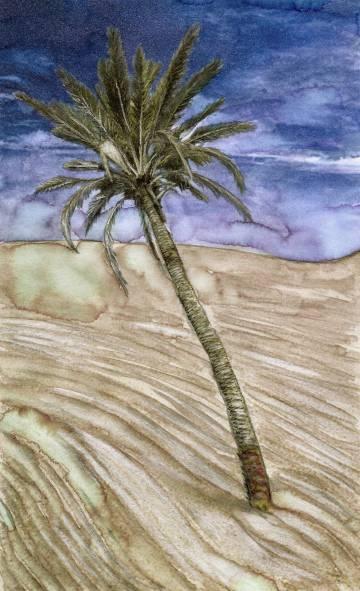 El oasis desecado