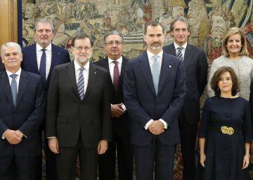 Toma de posesión de los nuevos ministros del Gobierno de Rajoy