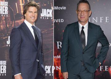 Tom Cruise y Tom Hanks, vidas paralelas y predecibles