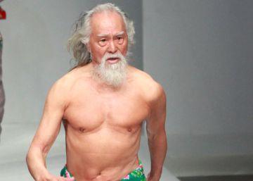 Deshung Wang, el abuelo más sexi de la pasarela