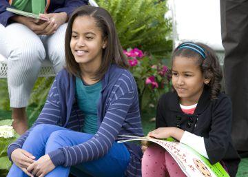 Así han crecido Sasha y Malia Obama en la Casa Blanca
