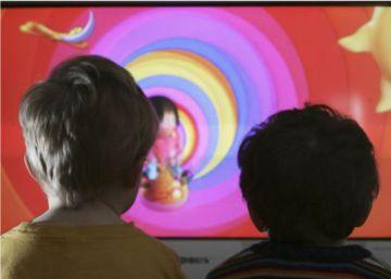 Un 20% de los niños de seis años tienen televisión o DVD en su habitación