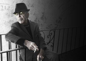 A poesia de Leonard Cohen, em imagens