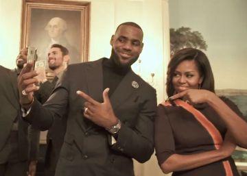 Los Cavaliers se quedan congelados con Michelle Obama