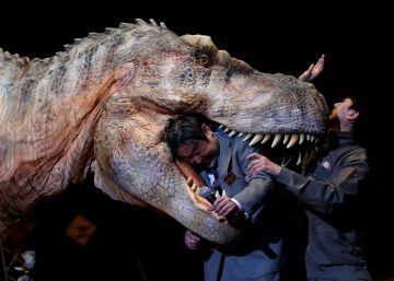 Los dinosaurios de 'Parque Jurásico' caminan de verdad sobre Japón