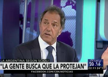 Daniel Scioli culpa a la crisis argentina de la caída de ventas de preservativos