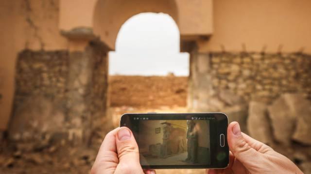 Ruinas de la ciudad de Nimrud.
