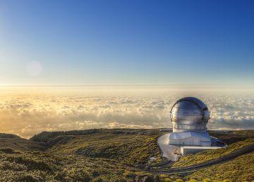 La isla que cultiva telescopios