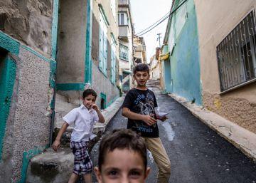 El barrio de los 300.000 refugiados