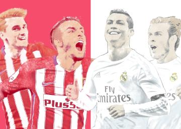 El último Atlético - Real Madrid en el Calderón