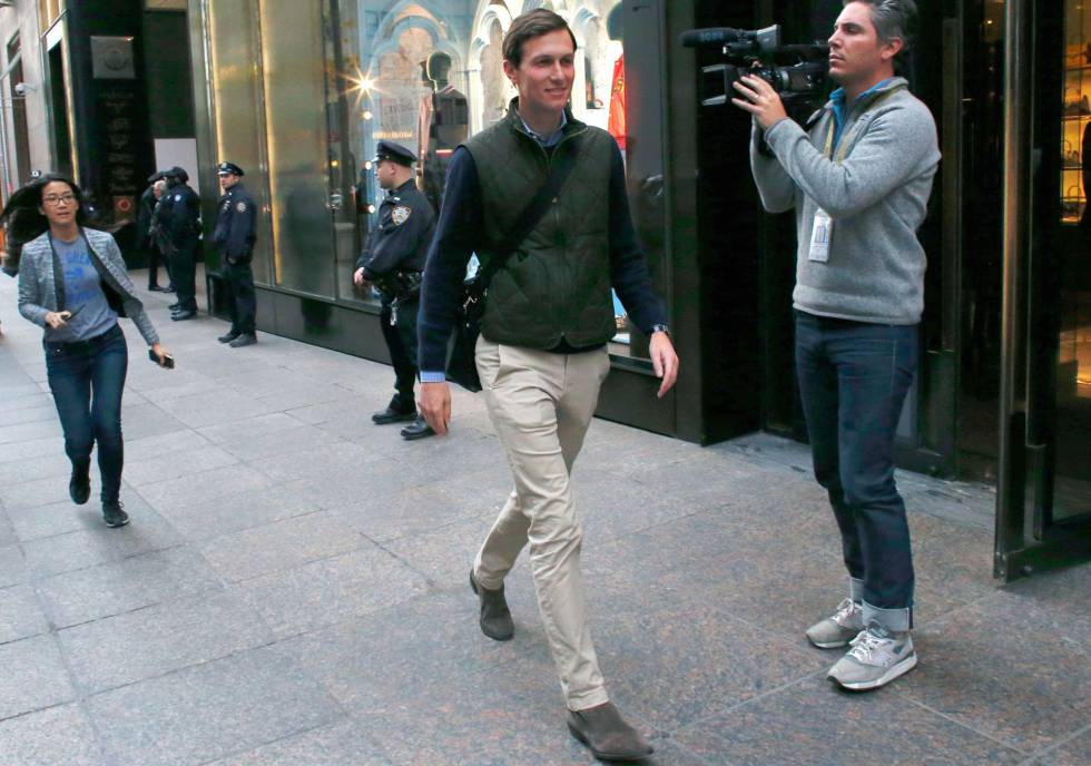 Jared Kushner, en Nueva York.