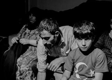 Niños sirios en talleres clandestinos