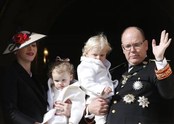 Los nietos de Carolina de Mónaco, protagonistas de la Fiesta Nacional en el Principado