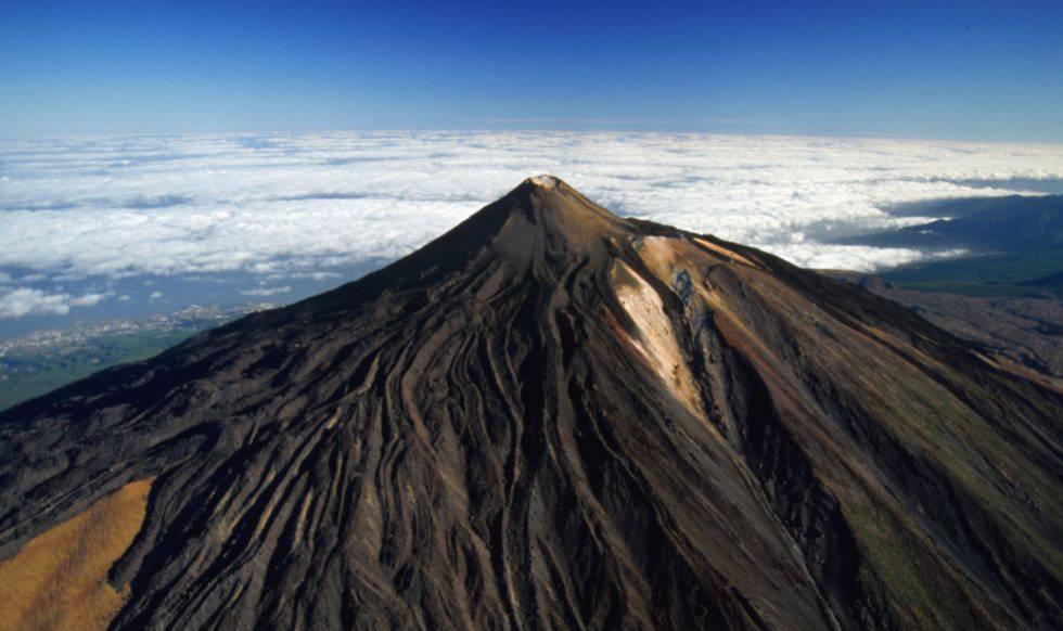 Pico del Teide, en la isla de Tenerife (Canarias).