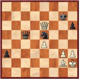 Carlsen crea, ataca y pierde