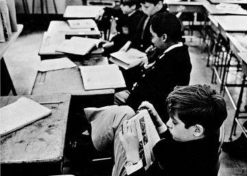 El amor por la lectura de André Kertész