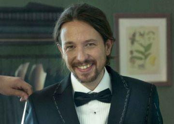 Pablo Iglesias posa con esmoquin para 'Vanity Fair'