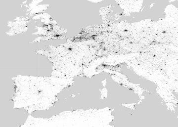 Un mapa muestra la huella humana en la Tierra