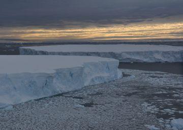 El mayor glaciar de la Antártida se derrite desde 1945
