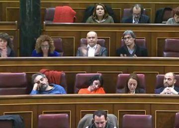 El aburrimiento de sus señorías en el Congreso