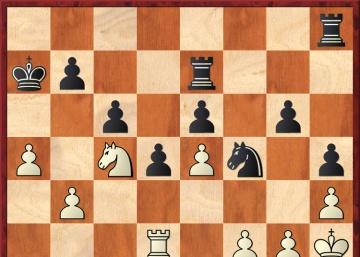 Extraña victoria de Carlsen