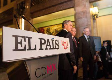EL PAÍS celebra en México su 40 aniversario