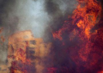 Incendios forestales en Israel
