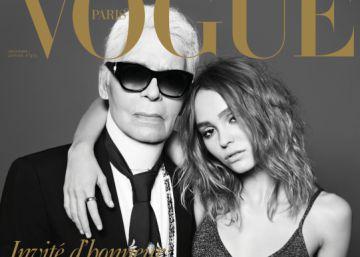 Karl Lagerfeld dedica su 'Vogue' a las mujeres de su vida
