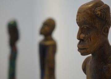 Fernando Nguema, el artista que salió del bosque