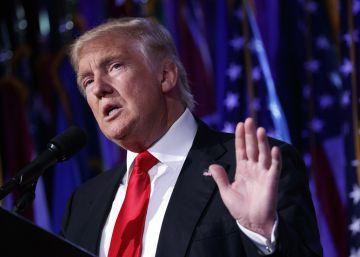 Trump, de frente con la TV y el Times