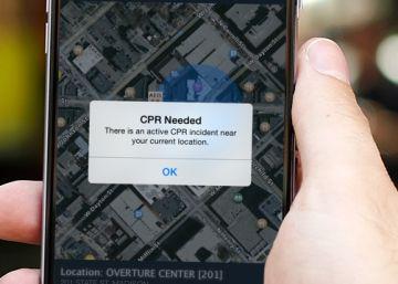 Las 'apps' que pueden salvarte de un paro cardíaco