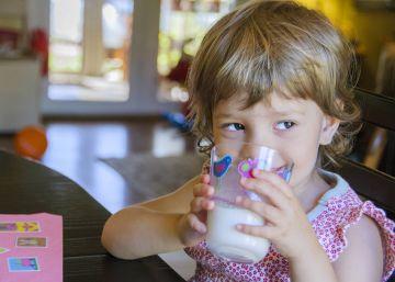 Dar leche entera a los niños no hace que suban de peso