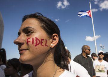 El homenaje a Fidel Castro