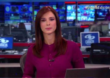 Así ha contado la televisión colombiana el accidente de avión